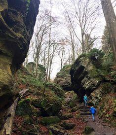 Een duivels mooie wandeling door de Teufelsschlucht in de Eifel | Is het nog ver?