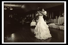 Emotional father daughter dance Amber and Colby's Wedding ~ Twin Hills Country Club, East Longmeadow MA