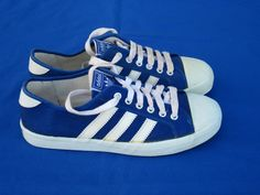 detailed look 0425f 5b0f0 Mens shoes - adidas adria vintage rare blue trainers cannes tennis uk 7 41  new