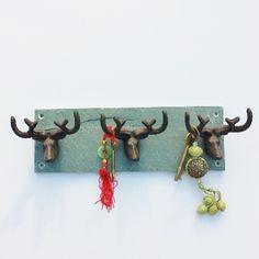 30% OFF Deer Head Coat Rack   Coat Hook Racks   Ella's Kitchen Company