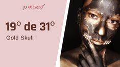 Gold Skull, My Works, Make Up, Movie Posters, Art, Art Background, Film Poster, Kunst, Makeup