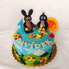 Baby Cakes, Mole, Birthday Cake, Cupcakes, Desserts, Tv, Ideas, Birthday Cake Toppers, Pies