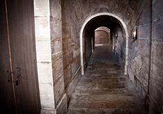 Basement Passage at Marie Antoinette's Petit Trianon