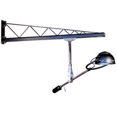 Swing Arm Crane - Rolling Rail Articulated Lamp available at 1stdibs