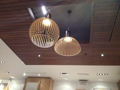 Great ceiling lights @ #Aritzia store in #Calgary.