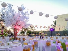 Dinner Reception at Spectacular Venue Today Book your dream wedding with us at www.theroyalsantrianwedding.com The Royal Santrian Luxury Beach Villa , Tanjung Benoa Bali