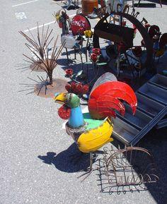 cockadoodle doo   Long Beach Antique Market   photo by Lisa Hackenberg