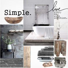 """Rustic Bathroom"" by szaboesz on Polyvore"