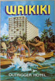Voyage à Hawaii (vintage) Posters sur AllPosters. Vintage Beach Posters, Vintage Poster, Vintage Postcards, Mahalo Hawaii, Oahu Hawaii, Hawaii Travel, Usa Travel, Honolulu Oahu, Airline Travel