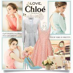 """""""Love,Chloe"""" by xxofashionforwardxxo on Polyvore"""