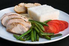 Kylling i estragonsaus   chezENGH Pork, Meat, Kale Stir Fry, Pork Chops