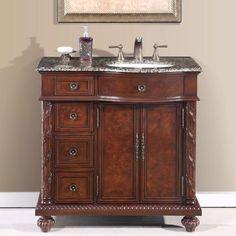 Bathroom: Simple Bathroom Vanity Lowes Design To Fit Every . Project Source Golden Bathroom Vanity Common: 36 In X 21 . 36 Inch Modern Single Sink Bathroom Vanity With Cream . Stone Bathroom Sink, Granite Vanity Tops, Modern Master Bathroom, Single Sink Bathroom Vanity, Bathroom Vanity Cabinets, Bathroom Countertops, Single Bathroom Vanity, Vanity Sink, Small Bathroom