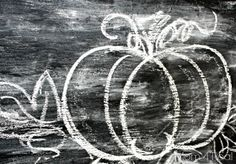 Draw a Pumpkin with Chalk and My Fall Mantel Decor Fall Chalkboard, Halloween Chalkboard, Chalkboard Signs, Chalkboards, Fall Mantel Decorations, Thanksgiving Decorations, Halloween Decorations, Chalk It Up, Chalk Art