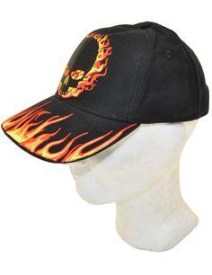 Lippis, Hot Leathers, Blackout Skull - Leatherheaven.com verkkokaupasta