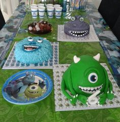 Monsters university table
