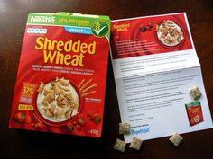 Markanpilkkuja: Hopotuksessa Nestle Shredded Wheat -murot