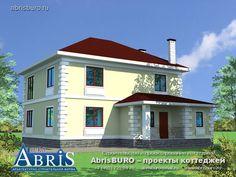 Лучшие проекты домов и коттеджей - готовые типовые индивидуальные проекты красивых загородных домов и удачных коттеджей, респектабельных вилл и шикарных особняков. Индивидуальное проектирование загородных домов от архитекторов фирмы АБРИСБЮРО.
