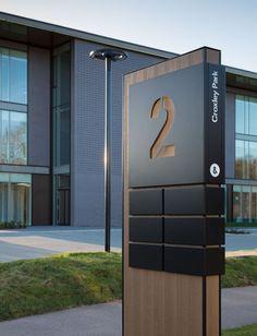 Brand Identity for Croxley Park. Directional Signage, Outdoor Signage, Wayfinding Signage, Signage Design, Pylon Signage, Parking Design, Tor Design, Gate Design, House Design