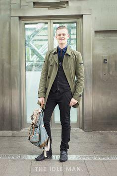 Men's Street Style - Casual Camo Colurs