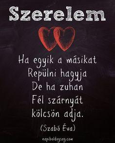 Szabó Éva definíciója a szerelemről. A kép forrása: Napi Boldogság