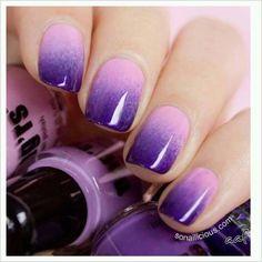 Purple Nails Hombre