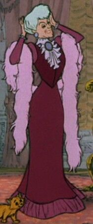 Madame Adelaide Bonfamille of Disney's The Aristocats