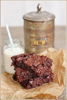 Dulce de Leche: Jablkovo čokoládové brownies