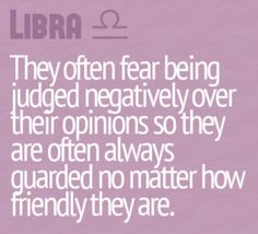 Huh...I guess it's true...for me at least...anyone else here a libra?