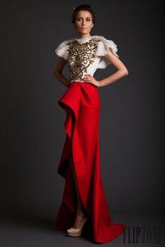 Krikor Jabotian Spring-summer 2014 - Couture - http://www.flip-zone.com/fashion/couture-1/independant-designers/krikor-jabotian-4681