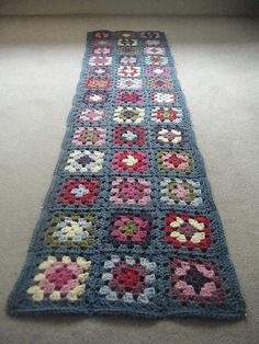 Granny Square Scarf | Flickr - Photo Sharing!