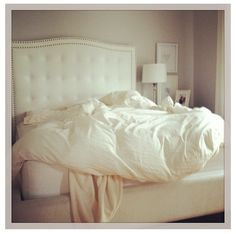 Cute and simple :) best part is, the beds not even made and i still wish mine looked like that!