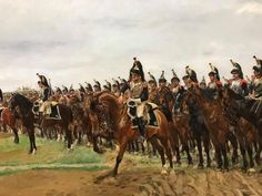Military Diorama, Military Art, Napoleonic Wars, Vintage Photos, Celtic, Battle, Moose Art, Horses, Animals