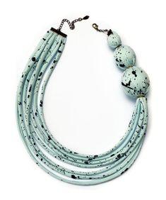 Fabric jewelry :)