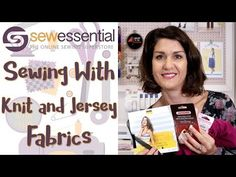 We do so love sewing with knit and jersey fabrics at Sew Essential. Comfortable to wear, easy to fit and to sew - what's not to love? Sewing Hacks, Sewing Projects, Sewing Tips, Sewing Machine Accessories, Sewing Needles, Mccalls Sewing Patterns, What To Make, Love Sewing, Sewing Techniques