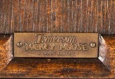 Emerson - Radio Mickey Musicien 411 - Bois Foncé et Personnage Peint - 1934