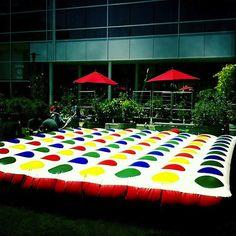 Inflatable Jumbo Outdoor Twister