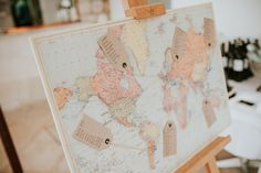 World Map Seating Plan -  In which part of the world are you seating? Dubrovnik Croatia