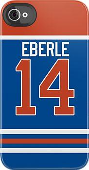 Oilers Jordan Eberle Jersey by jdsmdlo