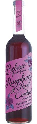 Raspberry & Rose Cordial : Belvoir Fruit Farms - We make naturally delicious Elderflower Cordials, Pressés and Fruit Crush drinks