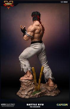 Estátua Hot Ryu