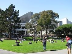 The student union at San Francisco State University.