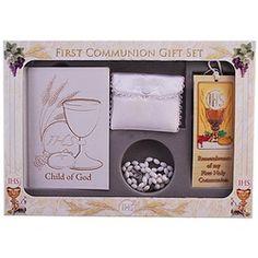 Child of God 6pc Deluxe Communion Gift Set / Girl | The Catholic Company