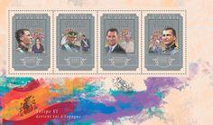Post stamp Guinea GU 14604 a Felipe VI becomes the King of Spain (Letizia Ortiz, {…}, Juan Carlos I of Spain) Stamps, Spain, King, Movie Posters, Art, Letizia Ortiz, Seals, Art Background, Sevilla Spain
