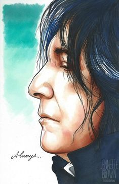Snape by sugarpoultry on DeviantArt