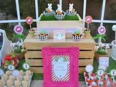Absolutely adorable Easter party. Tons of cute ideas/pictures.