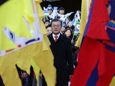 """A Coreia do Sul """"não vai ficar sentada a ver"""" as provocações da Coreia do Norte garantiu esta terça-feira o Presidente Moon Jae-in http://expresso.sapo.pt/internacional/2017-11-28-Coreia-do-Sul-quer-sancoes-mais-duras-contra-vizinho-do-Norte"""