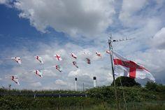 St George flags St George Flag, Saint George, England National Flag, Winston Churchill, Patron Saints, Flags, Objects, Outdoor Decor, National Flag