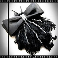 Ideal companion for the little black dress. That's the Christmas party sorted! <3