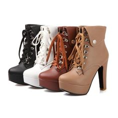 Now happily landed in stock ! Lace-up Women's P....  http://shopping-comfort.com/products/lace-up-womens-platform-ankle-boots?utm_campaign=social_autopilot&utm_source=pin&utm_medium=pin