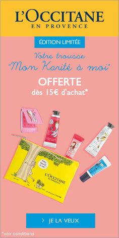 Shea butter actie befr Occitane En Provence, Shea Butter